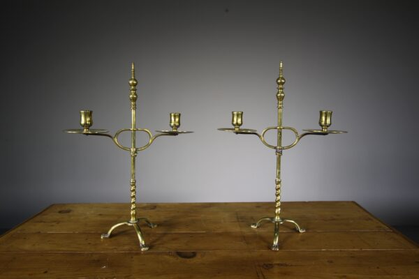 Pair of Early 19th Century Antique Candlesticks | Miles Griffiths Antiques