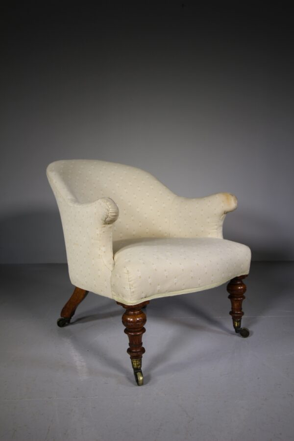 Mid 19th Century English Antique Armchair | Miles Griffiths Antiques