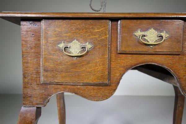 Welsh 18th Century Antique Oak Lowboy Table | Miles Griffiths Antiques