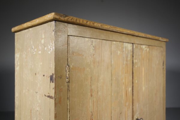 English 19th Century Original Antique Painted Pine Cupboard | Miles Griffiths Antiques