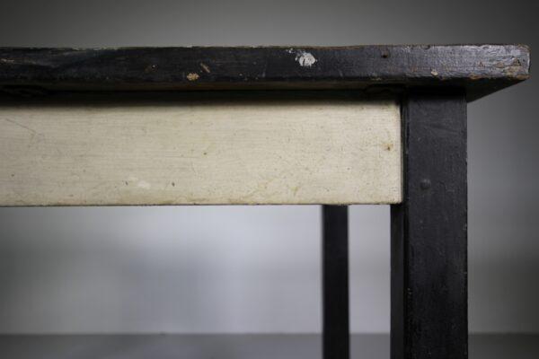 English Edwardian Original Painted Pine Centre Table | Miles Griffiths Antiques