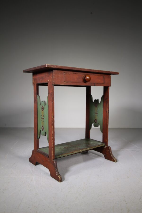 Edwardian Antique Painted Pine Games Table | Miles Griffiths Antiques