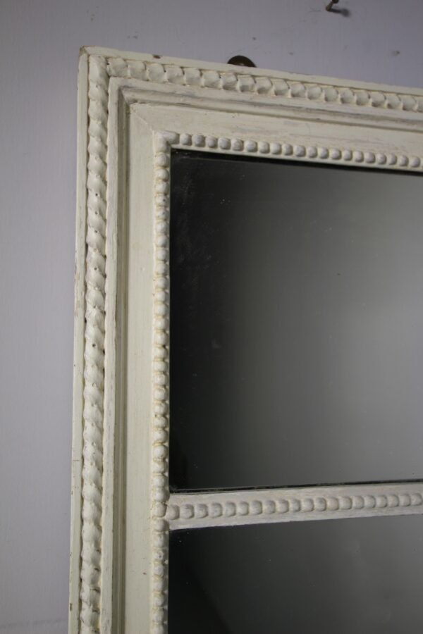 English 19th Century Antique Triple Wall Mirror in Paint | Miles Griffiths Antiques