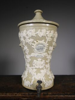 19th Century Antique Water Filter by Lipscombe & Co