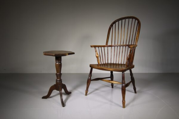 English 19th Century Antique Elm Windsor Armchair | Miles Griffiths Antiques