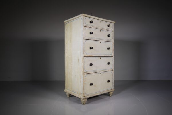 19th Century English Original Painted Chest of Drawers | Miles Griffiths Antiques