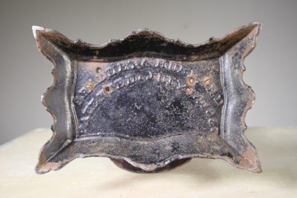 Rare American 19th Century Antique Iron Clock Case | Miles Griffiths Antiques