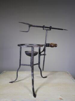 Late Georgian English Antique Iron Spit