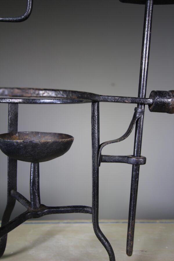 Late Georgian English Antique Iron Spit | Miles Griffiths Antiques