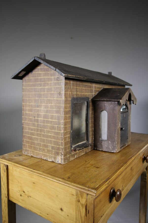 19th Century Antique Dolls House in Original Paint | Miles Griffiths Antiques
