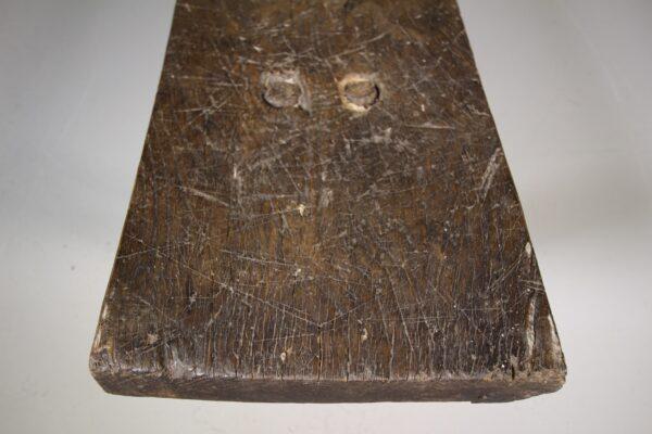 18th Century Antique Oak Pig Bench   Miles Griffiths Antiques