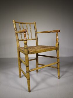 Regency Antique Armchair in Original Paint