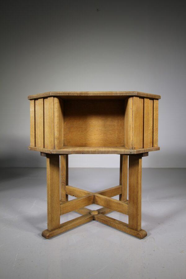 Superb Pair of Heals of London 1920's Oak Book Tables | Miles Griffiths Antiques