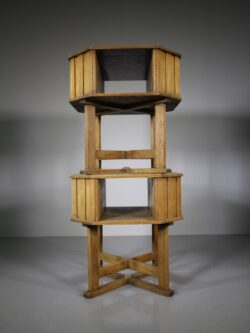 Superb Pair of Heals of London 1920's Oak Book Tables