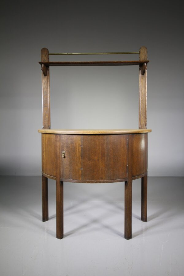 Rare Heals Antique Bow Fronted Table | Miles Griffiths Antiques