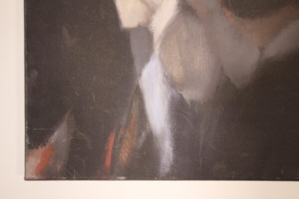 1960's Abstract Oil Painting by John Kenneth Long | Miles Griffiths Antiques